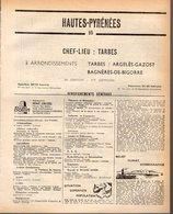 ANNUAIRE - 65 - Département Hautes-Pyrénées - Année 1968 - édition Didot-Bottin - 96 Pages - Telephone Directories