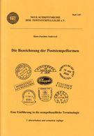 """H.J. Anderson """"Die Bezeichnung Der Poststempelformen"""" 2. Auflage 1996 - Stamp Catalogues"""