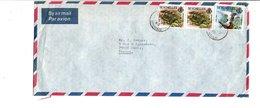 SEYCHELLES AFFRANCHISSEMENT COMPOSE SUR LETTRE POUR LA FRANCE 1980 - Seychelles (1976-...)