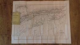 Carte De L'Algérie (physique Et Politique).par A. VUILLEMIN.1856.(col1c) - Mapas Geográficas