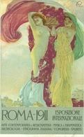 Roma 1911, Esposizione Internaz. Arte, Musica, Riproduzione C07, Reproduction, Illustrazione, A.Terzi Illustratore - Esposizioni