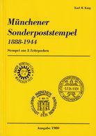 """Karg """"Münchener Sonderpostämter 1888-1944"""" / Ausgabe 1980 - Otros"""