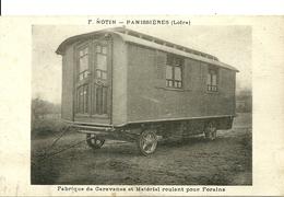 PANISSIERES  (Loire) - F. NOTIN - Fabrique De Caravanes Et Matériel Roulant Pour Forains - France