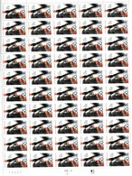 Feuille  Arthur Honegger N° 2750 - Full Sheets