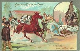 Verona, Grande Fiera Di Cavalli, Riproduzione C08, Reproduction - Foires