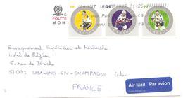 """2005 Lettre Du Canada: """"Etoiles De La NHL"""" Ligue Nationale De Hockey Sur Glace - Jockey (sobre Hielo)"""