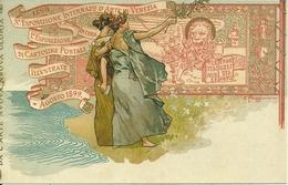 3^ Esposizione Internaz. Arte Venezia 1899, Riproduzione C09, Reproduction, Illustrazione, E. Paggiaro Illustratore - Esposizioni