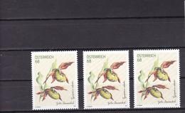 AUSTRIA 2017 Lady's Slipper (Cypripedium Calceolus) Flower Flora MNH ** (3*) - 1945-.... 2. Republik