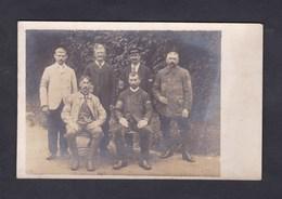 Carte Photo Guerre 14-18 Camp Prisonniers Rastatt Envoi De Lucien Thiebaut Prisonnier Civil  Thiebaut Bouin Aime Savoie - Guerre 1914-18