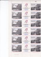 Feuille  Triptyque Bicentenaire Révolution N° 2537-2538 - Full Sheets