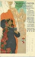 Esposizione Faenza, III Cent. Nascita E.Torricelli 1908, Riproduzione C12, Reproduction, Illustraz. M.Dudovich Illustr. - Esposizioni