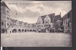 Halle  Das Neue Museum In Der Moritzburg  1916 - Halle (Saale)