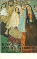 Rome 1911, Exposition Etnographique Internaz., Riproduzione C13, Reproduction, Illustrazione - Esposizioni