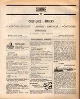 ANNUAIRE - 80 - Département Somme - Année 1968 - édition Didot-Bottin - 166 Pages - Annuaires Téléphoniques