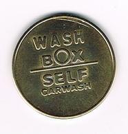 //  JETON   WASH  BOX  SELF  CARWASH - Firma's