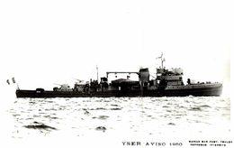 YSER AVISO 1950 - Guerra