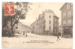 PONTARLIER   ( Doubs  ) ROUTE DU CAMP DES PAREUSES - Pontarlier