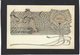 CPA Lelée Léo Art Nouveau Femme Girl Woman Circulé Chouette - Otros Ilustradores