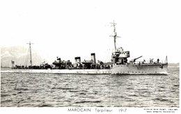 MAROCAIN TORPILLEUR 1917 - Warships
