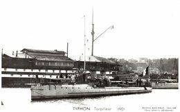TYPHON TORPILLEUR 1901 - Guerra