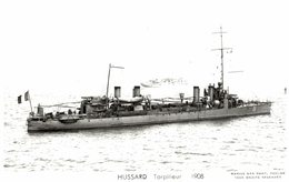 HUSSARD TORPILLEUR 1908 - Warships