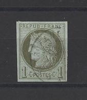 FRANCE Colonies Générales.  YT  N° 14  Obl  1872 - Ceres