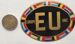 Europe Unie Sticker-Autocollant - Vignettes Autocollantes