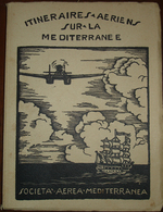 Livre édition 1931 Societa Aerea Mediterranea (français) - Kommerzielle Luftfahrt