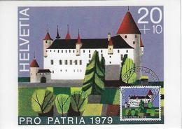 Switzerland 1979  Oron  1.8.79  Mi.1156 - Maximum Cards