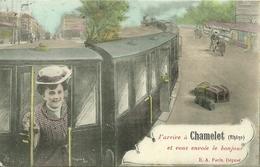 J' Arrive à CHAMELET Et Vous Envoie Le Bonjour - France
