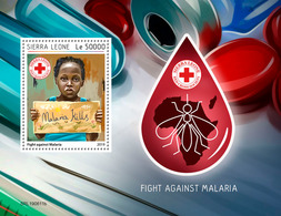 SIERRA LEONE 2019 - Malaria S/S. Official Issue [SL190611b] - Disease