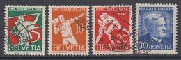 Switzerland 1932 Pro Juventute 4v Used (44125D) - Pro Juventute