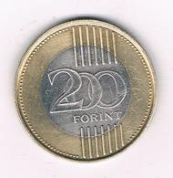 200 FORINT 2009 HONGARIJE /6102/ - Hongrie