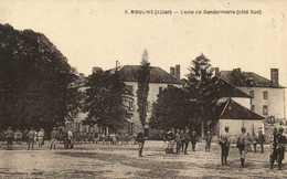 MOULINS (Allier ) Ecole De Gendarmerie (Coté Sud) RV - Moulins