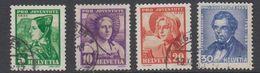 Switzerland 1935 Pro Juventute 4v Used (44125E) - Pro Juventute