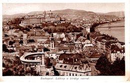 Budapest - Látkép A Királyi Várral 1915 - Ungarn