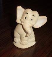 Figurine Vintage Éléphant En Caoutchouc - Chicco - Figurines