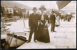 Croatia / Hrvatska: Abbazia (Opatija), Port 1909 - Kroatien