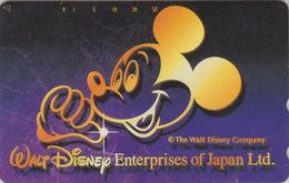 Télécarte NEUVE Japon / 110-138418 - DISNEY ENTERPRISES - MICKEY MOUSE - Japan MINT Phonecard - Disney