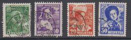 Switzerland 1936 Pro Juventute 4v Used (44125H) - Ongebruikt