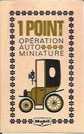 Chromo 1 POINT OPERATION AUTO MINIATURE MOBIL. - Publicités