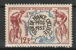 FRANCE 1953 YT N° 955 ** - Ongebruikt