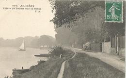 ANDRESY - Effets De Brume Sur La Seine - Andresy