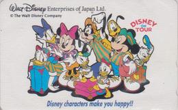 Télécarte Japon / 110-161110 - DISNEY ENTERPRISES ** ON TOUR ** - Japan Phonecard - Disney