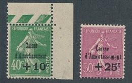 CX-212: FRANCE: Lot Avec N°253**-254** - Unused Stamps