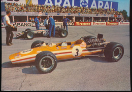 """Monza """" Gran Premio D'Italia F1 1968 """"  Mc Laren BRM F 1 - Grand Prix / F1"""