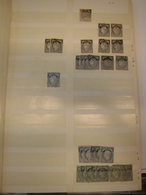 Sammlung Posten Frankreich Gestempelt 1849-1872 Ca 500 Marken M€ Ca 10000 (1537) - Francia