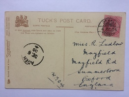 ADEN Postmark On 1905 Edward VII India Postcard To England - Aden (1854-1963)