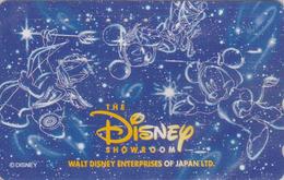 Télécarte Japon / 110-177064 - DISNEY ENTERPRISES - MICKEY DONALD ** SHOWROOM ** - Japan Phonecard - Disney