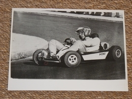 Rare!  Belle Photo Ancienne Voiture Ancienne Emerson Fittipaldi Tampon Photographe Course! F1 Karting - Automobili
